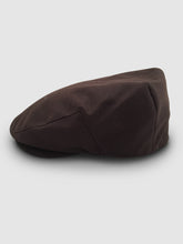 Load image into Gallery viewer, Waterproof Wool 101 Flat Cap, Brown