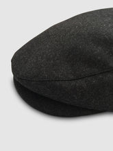 Load image into Gallery viewer, Waterproof Wool 101 Flat Cap, Grey Melange