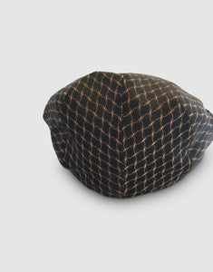 Silk 105 Flat Cap, Black
