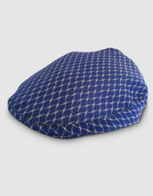 Load image into Gallery viewer, Silk 105 Flat Cap, Navy