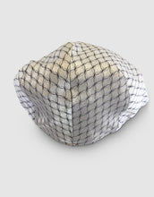 Load image into Gallery viewer, Silk 105 Flat Cap, White