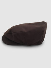 Load image into Gallery viewer, Waterproof Wool 106 Flat Cap, Brown
