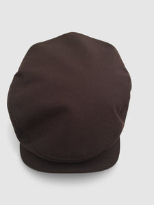 Waterproof Wool 106 Flat Cap, Brown
