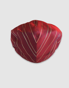 Silk 106 Flat Cap, Red