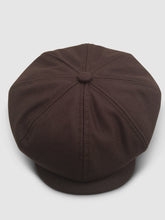 Load image into Gallery viewer, Waterproof Wool 201 Newsboy Cap, Brown