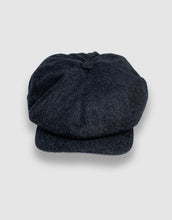 Load image into Gallery viewer, Waterproof Wool 201 Newsboy Cap, Grey Melange