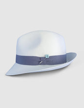 Load image into Gallery viewer, 310 Superfine Panama Fedora Hat, Natural and Grey