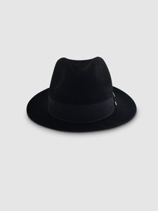Rabbit Felt 361 Fedora, Black