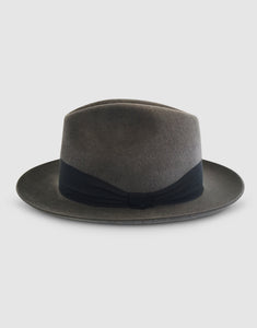 Rabbit Felt 361 Fedora, Grey