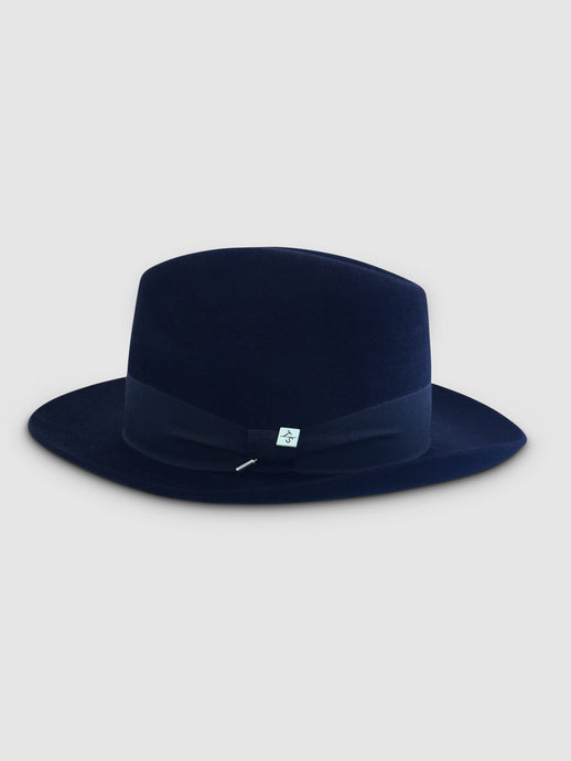 Rabbit Felt 361 Fedora, Navy