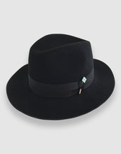 Load image into Gallery viewer, Merino Wool Felt 365 Fedora, Black