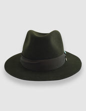 Load image into Gallery viewer, Merino Wool Felt 365 Fedora, Forest Green