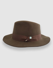 Load image into Gallery viewer, Merino Wool Felt 365 Fedora, Kangaroo Brown