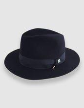 Load image into Gallery viewer, Merino Wool Felt 365 Fedora, Navy Blue