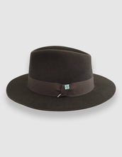 Load image into Gallery viewer, Merino Wool Felt 365 Fedora, Olive Green