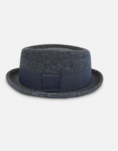 Load image into Gallery viewer, 402 Rabbit Felt Pork Pie Hat, Grey Marl