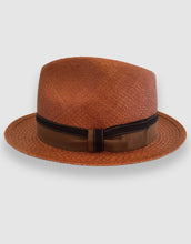 Load image into Gallery viewer, 703 Quito Panama Trilby Hat, Rusty Brown