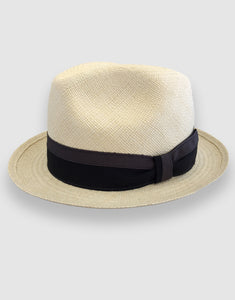 703 Quito Panama Trilby Hat, Natural