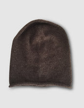 Load image into Gallery viewer, 834 Cashmere & Wool Knitted Beanie Hat, Brown