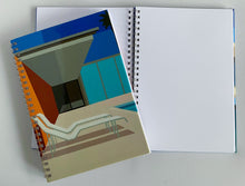 Load image into Gallery viewer, Spiral A5 Notebook, California Pool