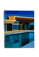 Load image into Gallery viewer, Spiral A5 Notebook, Colour House