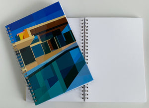 Spiral A5 Notebook, Colour House