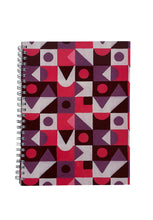 Load image into Gallery viewer, Spiral A5 Notebook, Abstract 3 Set