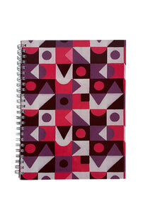 Spiral A5 Notebook, Abstract 3 Set