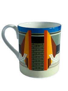 Bone China Mug, California Pool