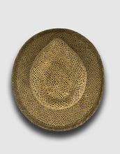 Load image into Gallery viewer, 320 Straw Fedora Hat, Natural
