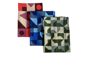 Tea Towel, Abstract 3 Set