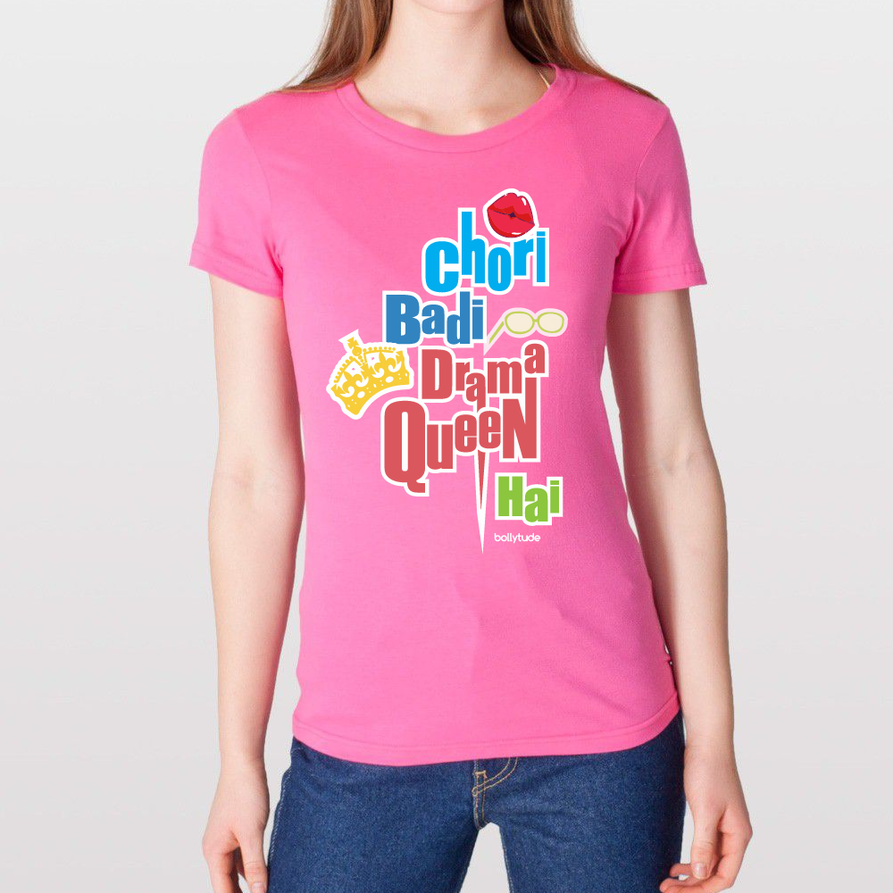 Bollywood t shirt | Bollytude | Drama Queen | Parineeti Chopra