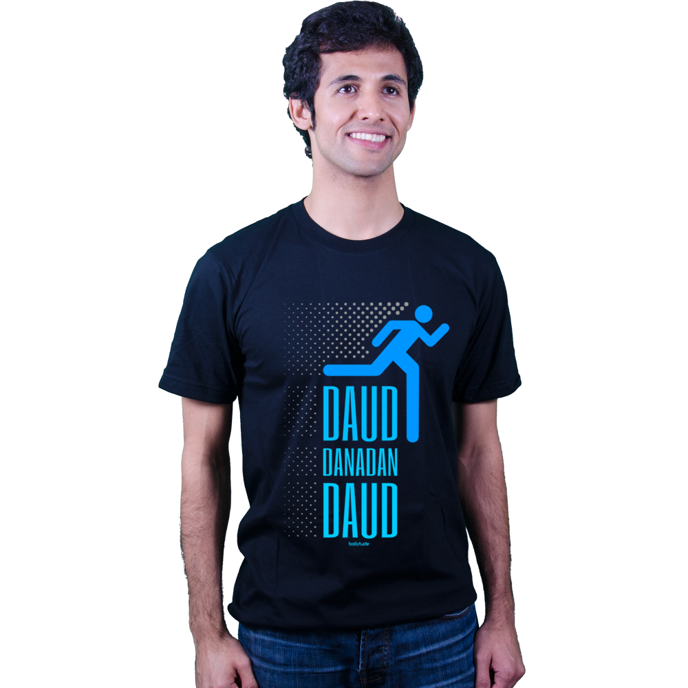 Bollytude | Bollywood t shirt | Danadan Daud | Running | fun | workout t shirt