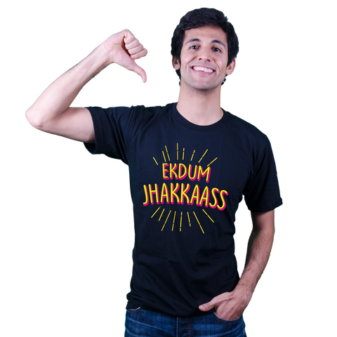 Ekdum Jhakkas- Bollywood T Shirt