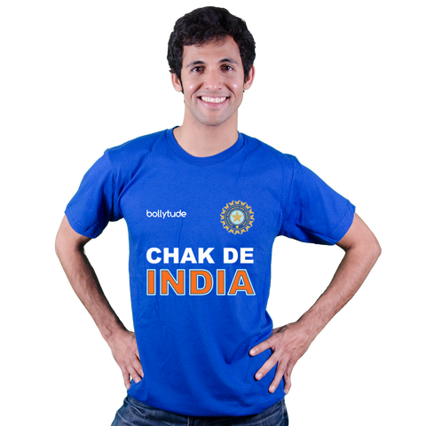 Chak De INDIA - [un] Official World cup Indian cricket t-shirt