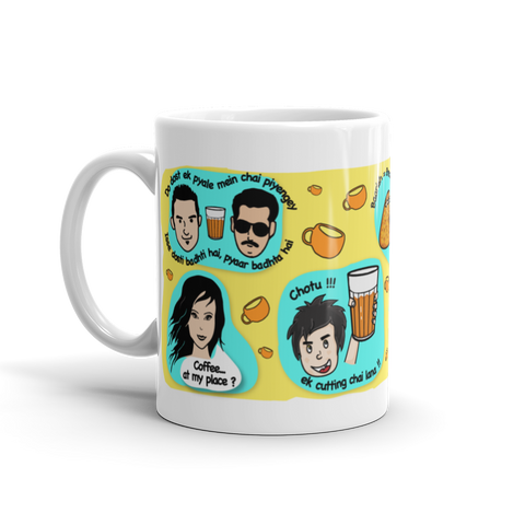 Bollywood Cutting Chai or Coffee Mug