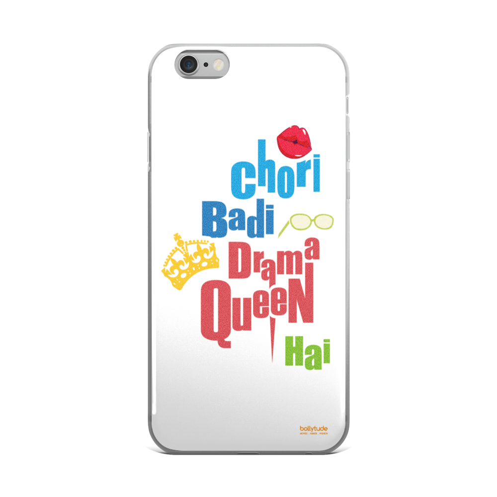 Bollywood Phone Case/Cover, iPhone cover, Funy, Quirky, Bollywood Gift, Chori Badi Drama Queen Hai, Parineeti Chopra, Siddharth Malhotra, Hasee Toh Phasee
