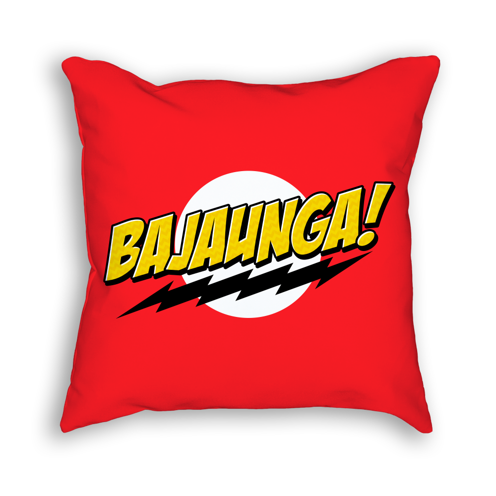 Bollywood Pillow | Bollytude | Home decor | Big Bang Theory | Bazinga