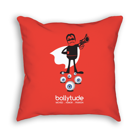 Crime Master Gogo Pillow - Red