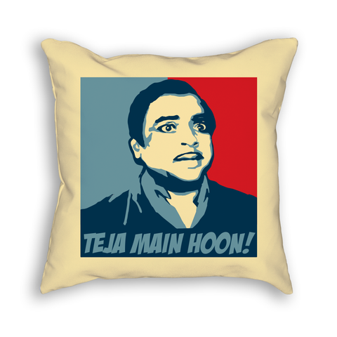 Teja Main Hoon Pillow