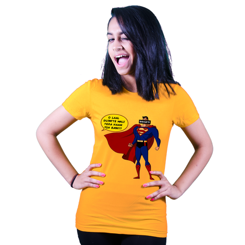 Teasing Superman - Bollywood T shirt