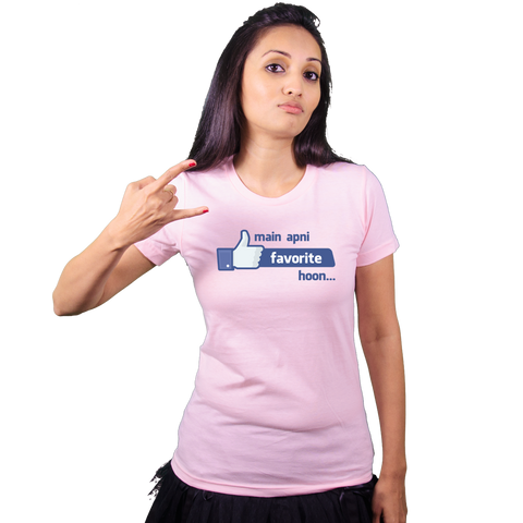 Main apni favorite hoon! - Bollywood T Shirt