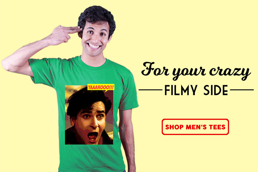 Bollywood tshirts for men, guys, boys | FIlmy