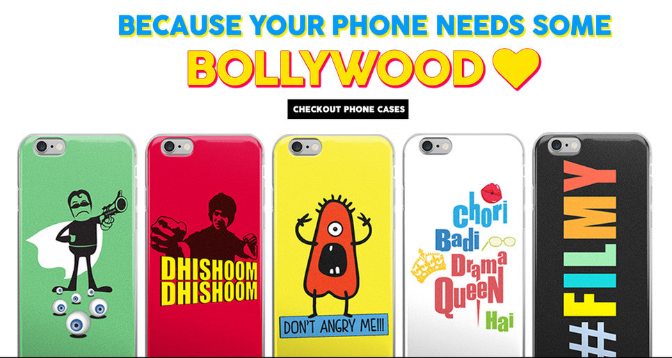 25% Mothers Day discount on all Bollywood tshirts, mugs, phone cases, pillows