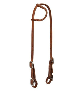 Sliding Ear Headstall with Buckle Bit Ends