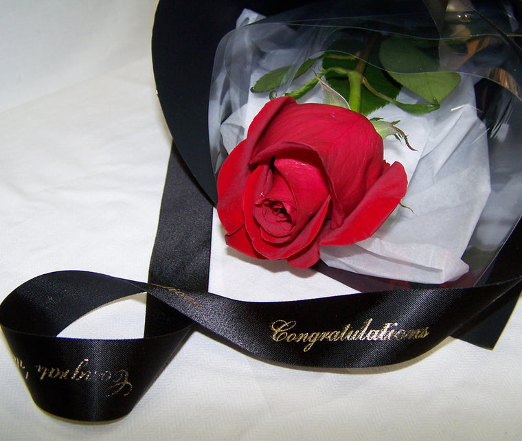 FORMAL RED ROSE