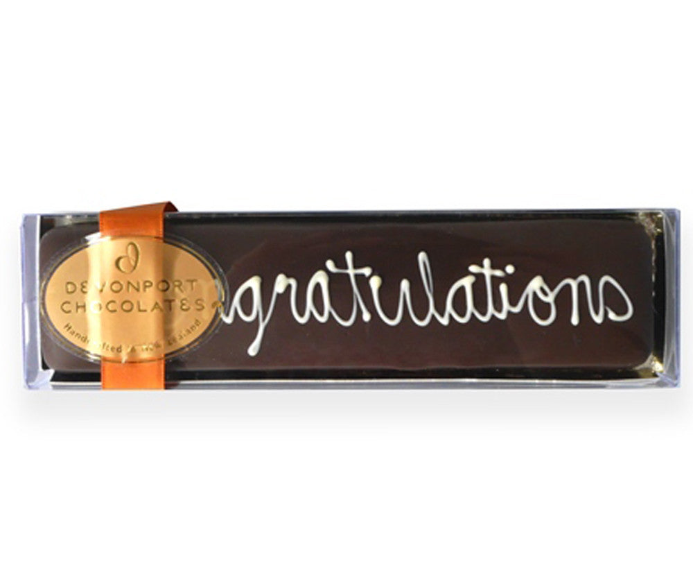 DEVONPORT CHOCOLATE CONGRATULATIONS TRUFFLE