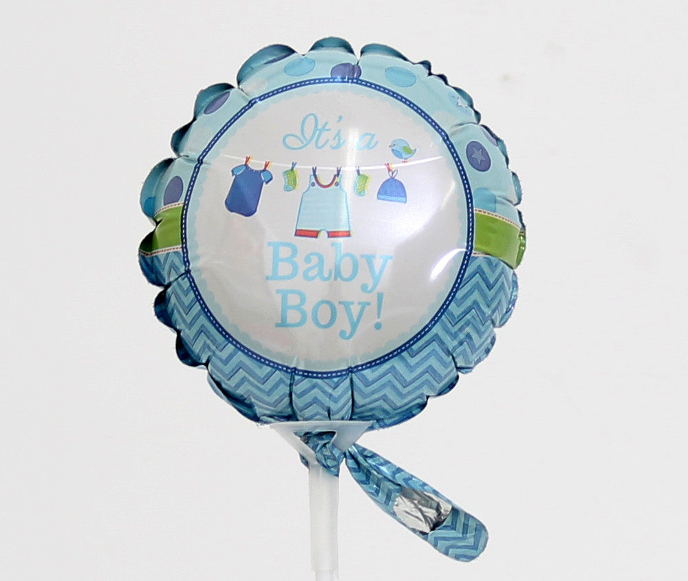 AIR FILLED BABY BOY BALLOON