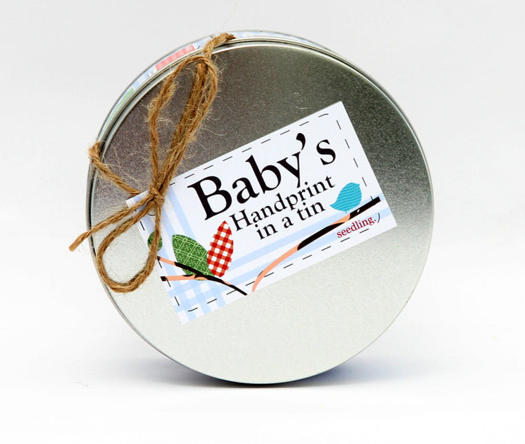 Baby's Hand Print kit from Seedling