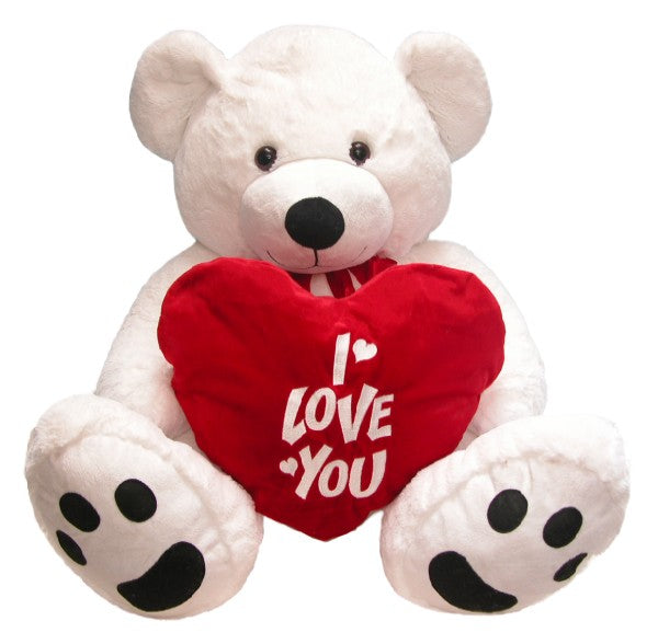 "GIANT ""I LOVE YOU"" TEDDY BEAR"